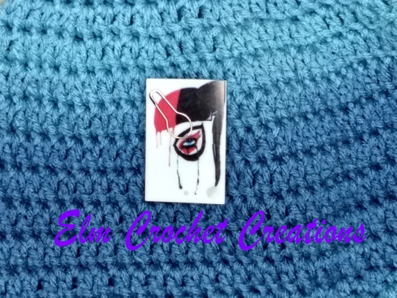 Harley Quinn Suicide Squad Needle Minder For Cross Stitch// Embroidery