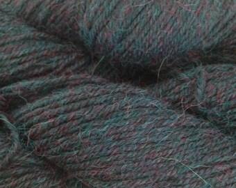 Berroco Ultra Alpaca Light Yarn, Color-Blue Mix #4288, Blend-Alpaca & Super fine Peruvian Wool, Weight-Sport/DK