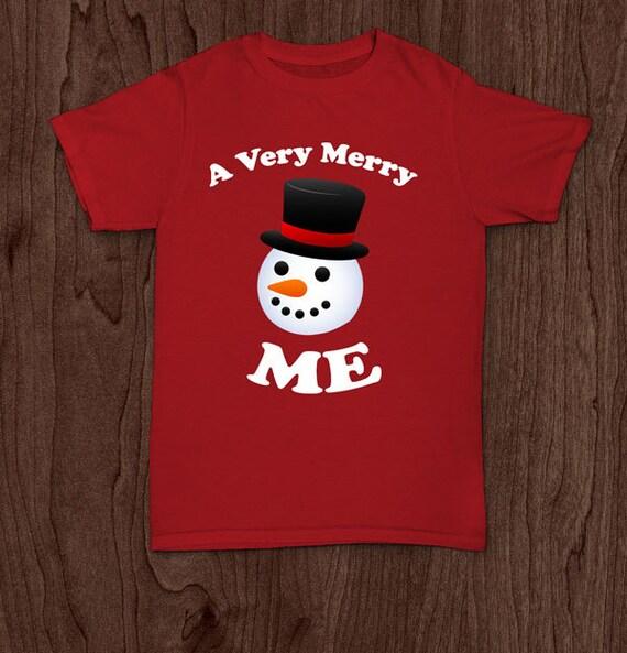 A very merry me Christmas t shirt tee shirt tshirt family holiday shirt elf kid's infant's youth kids toddler shirt men's women's tee shir