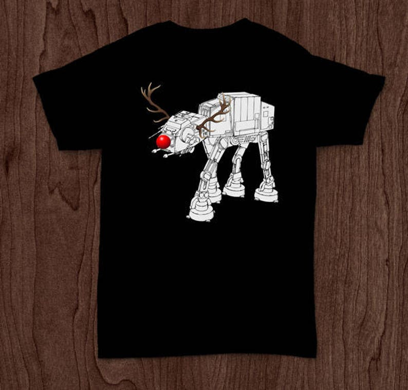 9a3ef9c17 Reindeer Robot ugly Christmas sweater Star Wars shirt funny | Etsy