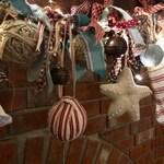 Primitive Christmas Garland Custom order for Jane