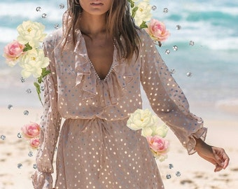 White lace Top off the shoulder long bell sleeves View my shop for lace kimono floral kaftan dress sequin skirt crystal gemstone bikini top
