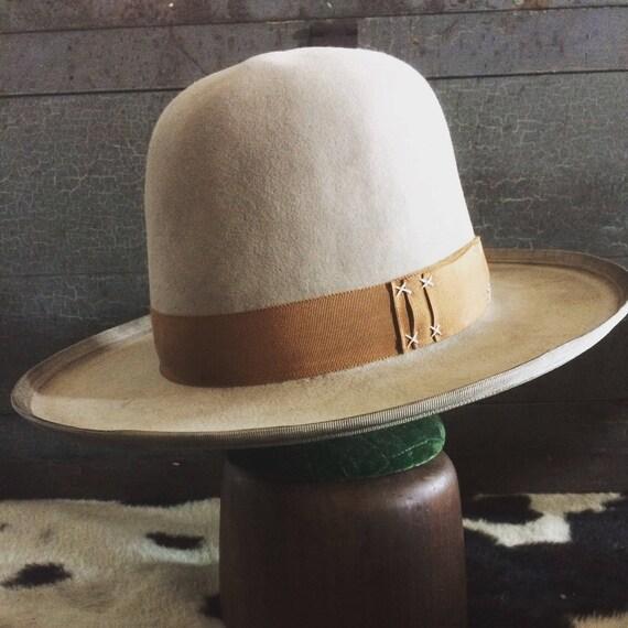 acfcd29dfa Extra tall open road western cowboy hat cowgirl hat custom wide brim hat