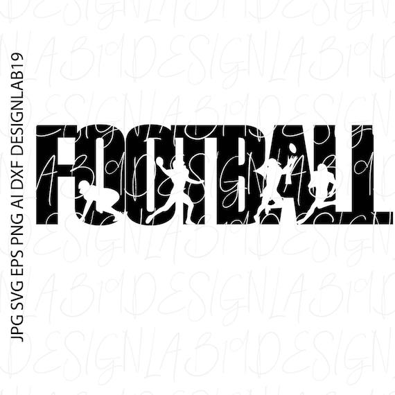 Football Svg Cut File Silhouette Team Coach Game Varsity Pig Etsy