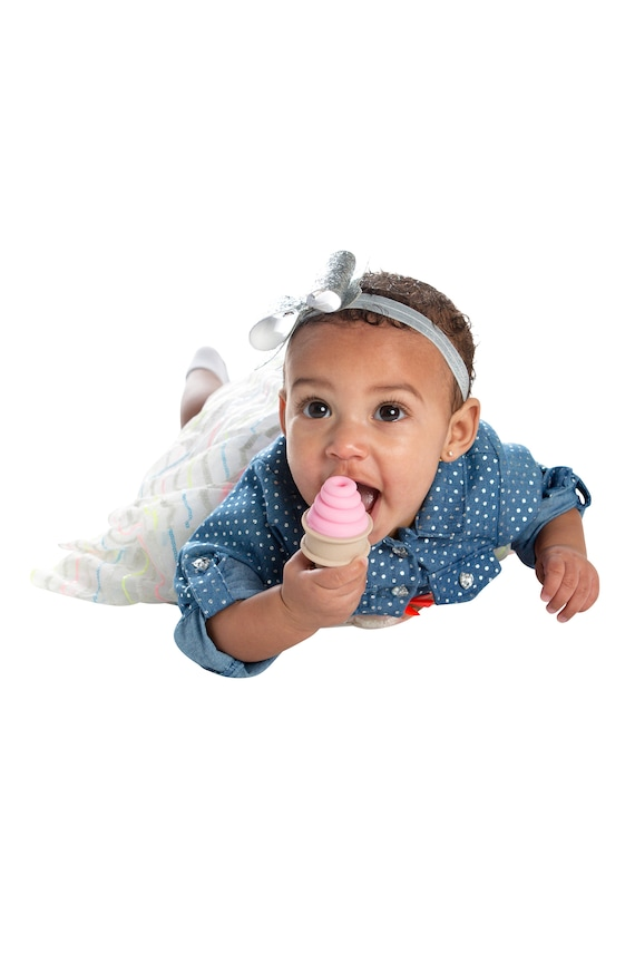 SweeTooth Baby Teether Pretty Pink