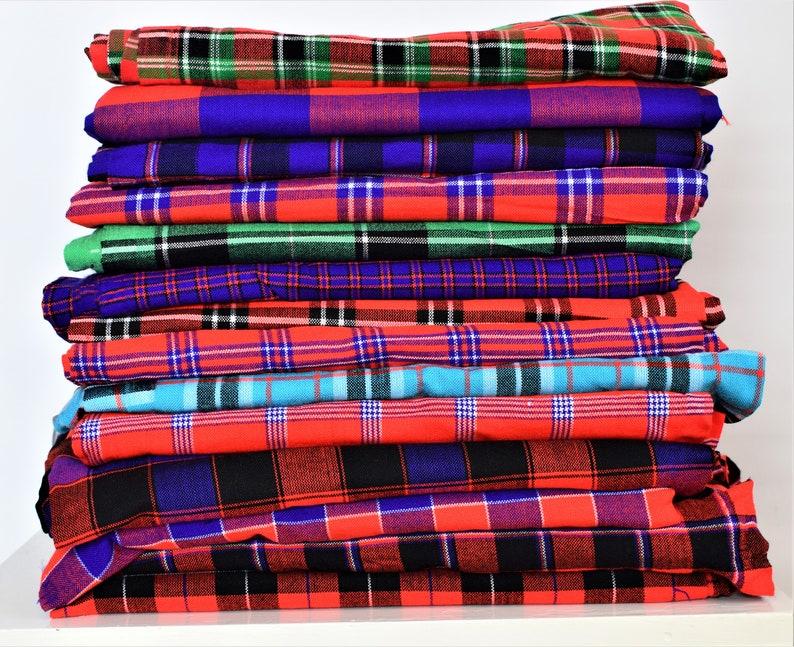 African Print African Fabric Ethnic African Shuka Maasai Fabrics Sarong Sale Cape Wraps African Throw Colorful fabrics Kenyan Kikoy