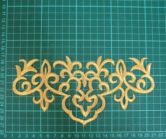 DIY Embroidered Motif Cloth Applique Iron On Patch Sew Clothing Decorations #58