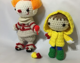 Crochet Pennywise and Georgie 2017