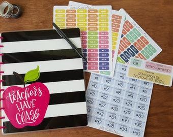 Teachers Have Class MAMBI Teacher Planner Stickers