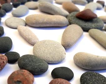 Stones for crafts / mandala stones / wishing stones / mandala with meditation stones / DIY mandala