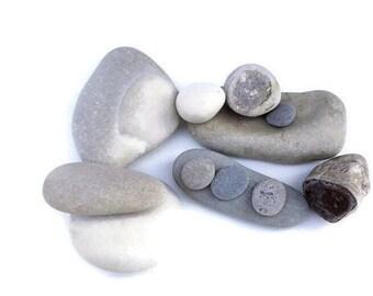 Baltic Sea beach stones / wishing stones / diy stones / meditation stones / pebbles from the Baltic Sea coast