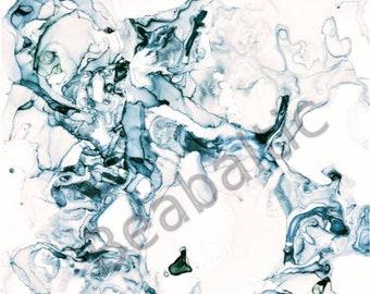 Printable poster / abstract art poster / original painting poster / printable wall art