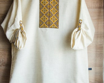 Shirt in Ukrainian style