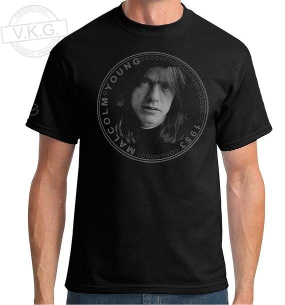 AC//DC Malcolm Young Cool Pièce Sweat à Capuche Sweat-shirt par v.k.g.