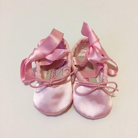 Pink Ballet Shoes Satin Ballerina