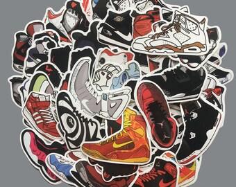 pretty nice c30a7 3eb8b 60 Air Jordan Shoe Stickers Retro Skateboard Nike Air Max USA SELLER