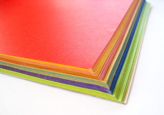 Origami Paper Bulk 180 Sheets Of Solid Color Japanese Origami Etsy