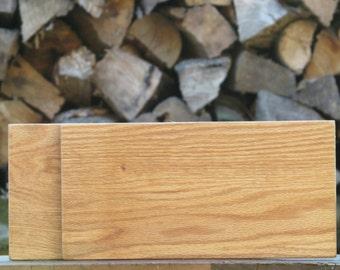 Oak cutting board kitchen knife cooking