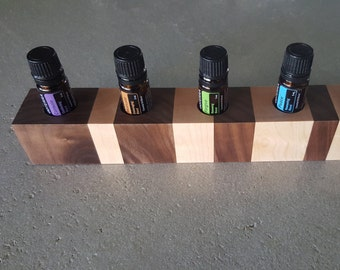 Rock Maple and Walnut Essential Oil Holder