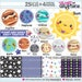 emyaj10 reviewed Solar System Clipart, Solar System Graphic, COMMERCIAL USE, Universe Clipart, Planet Clipart, Space Clipart, Astronomy