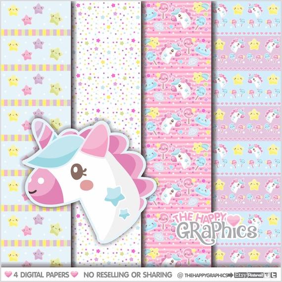 photograph regarding Printable Paper Patterns called Unicorn Electronic Paper, Professional Hire, Unicorn Practice