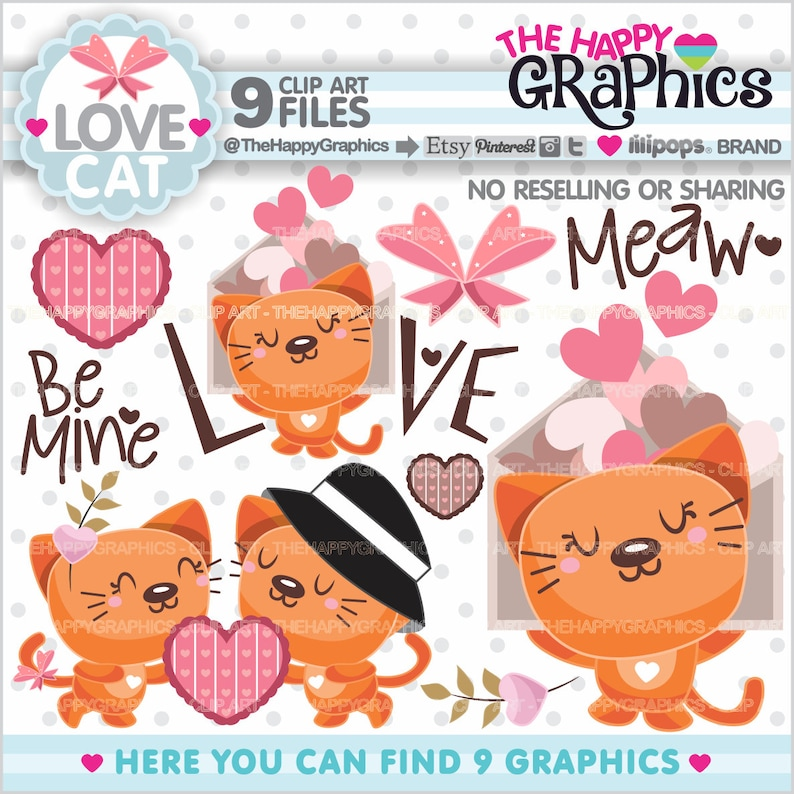 Love Clipart Love Graphic COMMERCIAL USE Valentines Day image 0