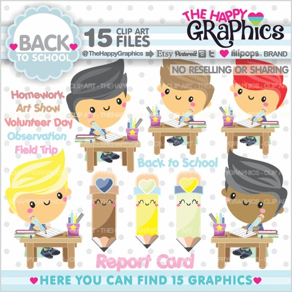back to school clipart back to school graphics commercial use