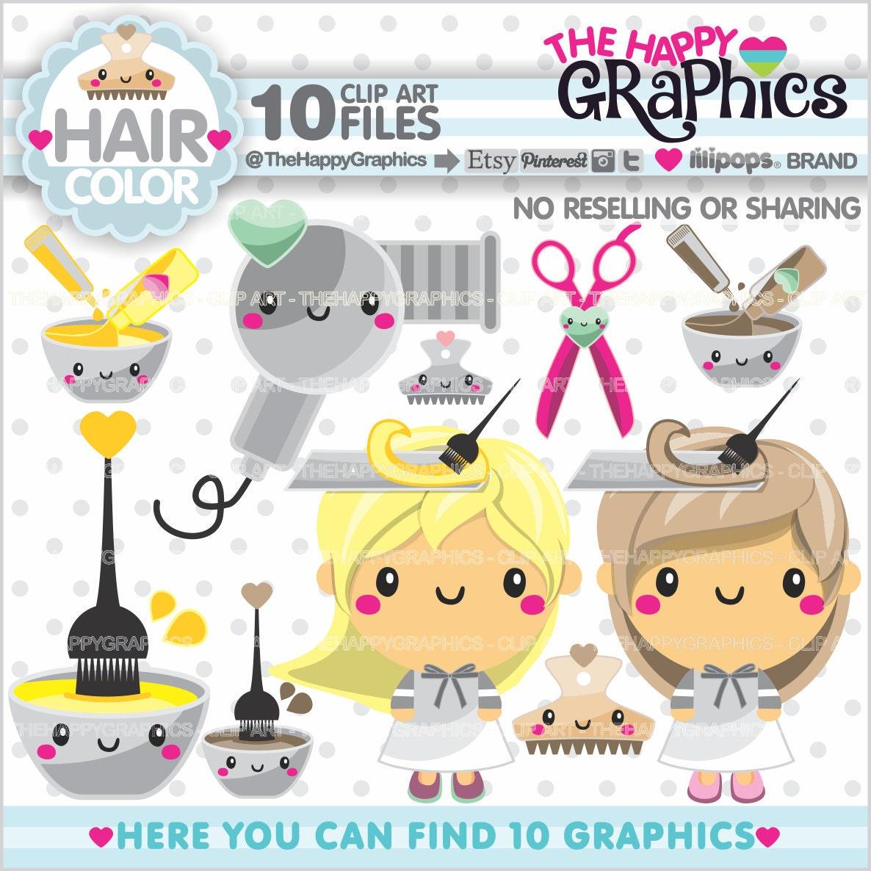 Salon Clipart Salon Graphics Commercial Use Spa Party Etsy