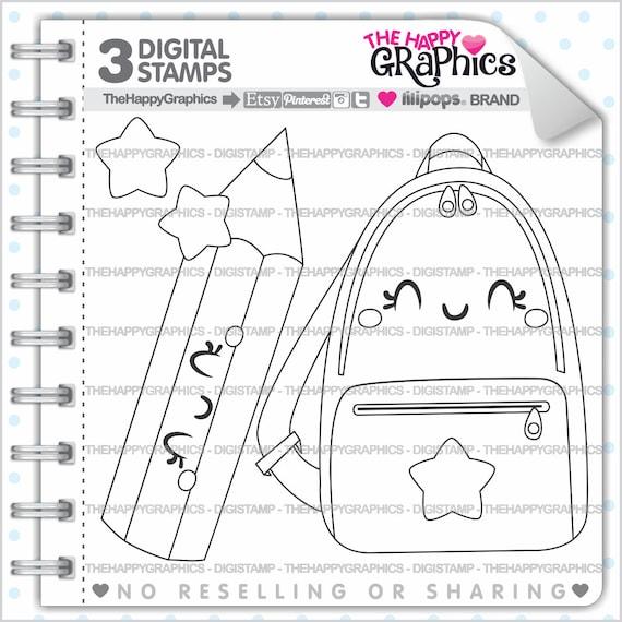 School Stamp 80OFF Commercial Use Digi Digital