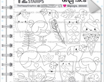 Flamingo Stamp, 80%OFF, COMMERCIAL USE, Digi Stamp, Digital Image, Flamingo Digistamp, Flamingo Coloring Page, Flamingo Graphic, Printable
