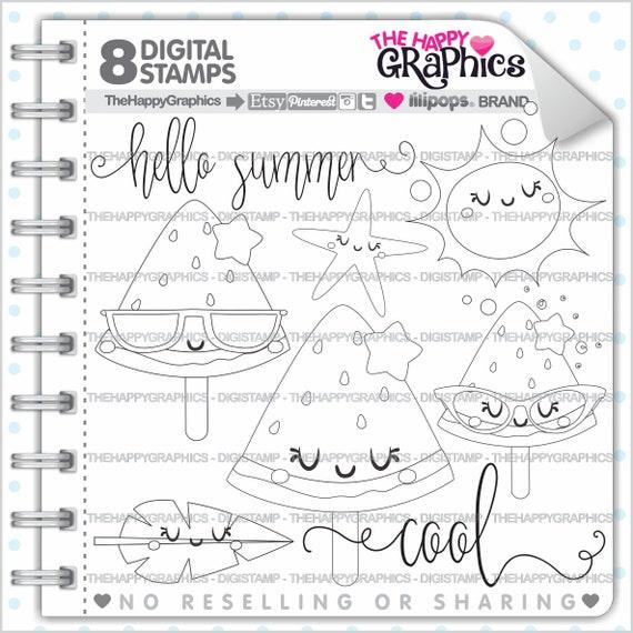 Summer Stamp 80OFF Commercial Use Digi Digital