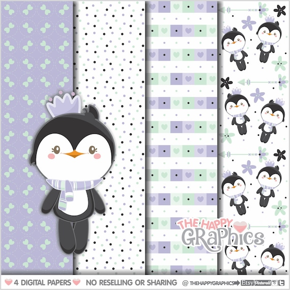 graphic about Penguin Pattern Printable identified as Penguin Electronic Paper, Penguin Practice, Professional Hire