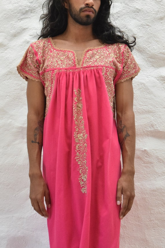 Embroidered Mexican Dress. Mexican Embroidered Dr… - image 8