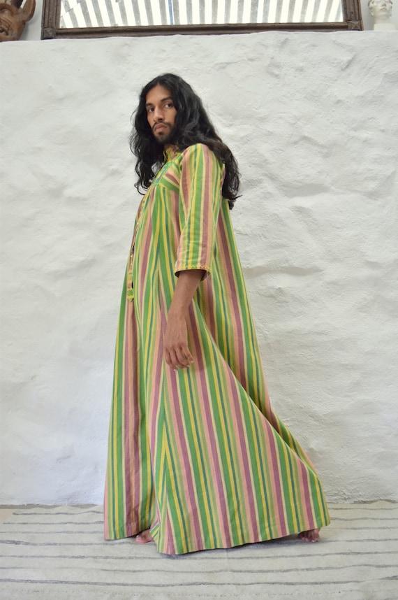 Vintage Mexican Dress. Mexican Kaftan.