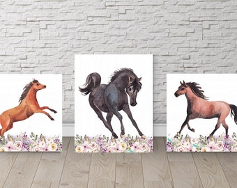 Horse Room Decor Etsy