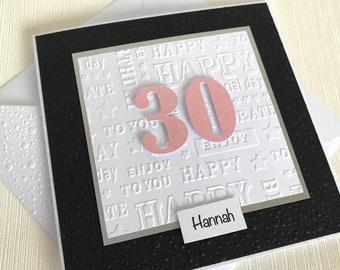 30th Birthday Card For Him