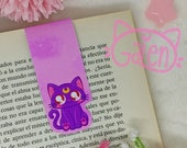 Magnetic Bookmark Luna Cat Sailor Moon Moonie