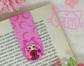 Magnetic Bookmark Black Lady Chibiusa Sailor Moon Moonie