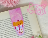 Magnetic Bookmark Bubble Tea Kero Sakura Card Captor