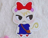 Sticker Waterproof Vinyl Marshal, Munchi Animal Crossing Galen.Draws