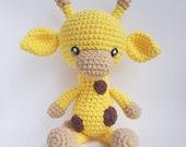 Amigurumi Giraffe, crochet doll, Amigurumi kawaii, plushie