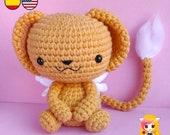Pattern crochet Kerberos - Amigurumi Kero Card Captor Sakura PDF TUTORIAL - Crochet PATTERN, Plushie Cerberus