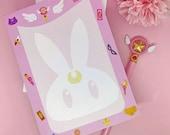 Bloc Notes Magical Girl, Card Captor Sakura, Sailor Moon, Memopad, Moonie Galen.draws