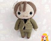 Pattern Remus Lupin, PDF Crochet Pattern, Tutorial amigurumi, doll, Moony