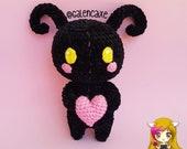 Amigurumi Heartless, muñeco de ganchillo Hearless baby, Amigurumi kawaii, plushie