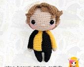 Pattern Cedric Diggory, PDF Crochet Pattern, Tutorial amigurumi, doll