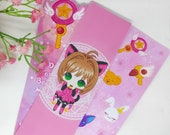 Bookmarks sakura, sailor moon, chobbits, Ahri League of legends, Boba Tea Keroberos