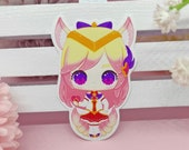 Sticker Waterproof Vinyl Ahri, Star Guardian, Lol