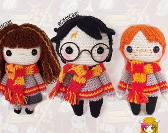 Ragdoll Harry Potter Free Crochet Pattern • Spin a Yarn Crochet | 270x340