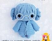 Pattern Moaning Myrtle, PDF Crochet Pattern, Tutorial amigurumi, doll